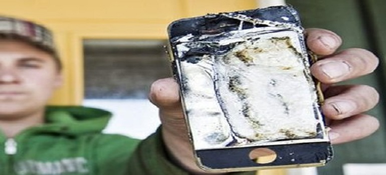 Mountain biker's iPhone explodes in his pocket after he falls