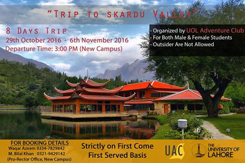 UOL Adventure Club is coming up with a Trip